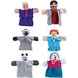 "Кукольный театр ""Репка"", 6 кукол, Жирафики"