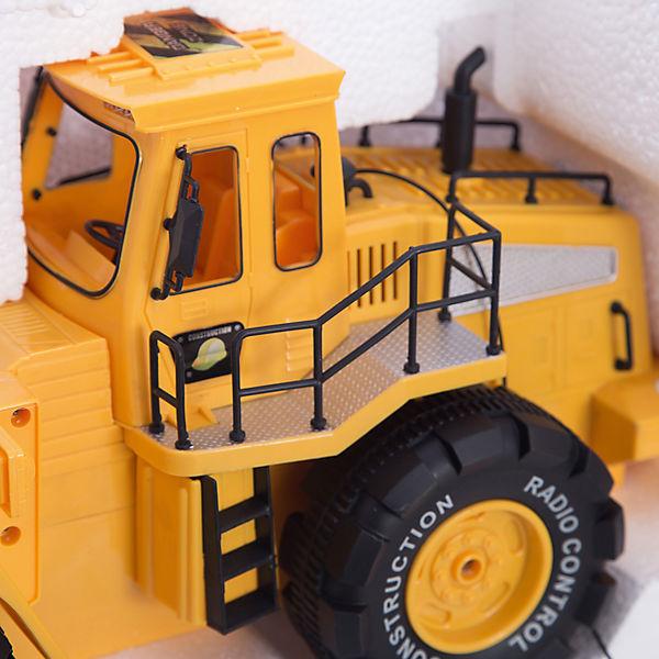Трактор с ковшом на р/у, 1:10, Пламенный мотор