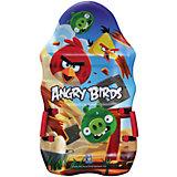 Ледянка выпуклая, с плотными ручками, 94см,Angry Birds, 1toy
