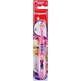 Зубная щётка для детей от 2 до 5 лет Barbie, Colgate, желтый/розовый