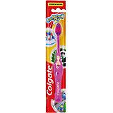 Зубная щётка супермягкая для детей от 2х лет, Colgate, розовый