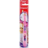 Зубная щётка Смайлс Barbie супермягкая для детей старше 5 лет, Colgate, фиолетовый/розовый