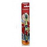 Зубная щётка Смайлс SpiderMan супермягкая для детей старше 5 лет, Colgate, синий/зеленый