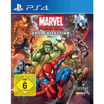 PS4 Marvel Pinball EPIC Collection: Volume 1
