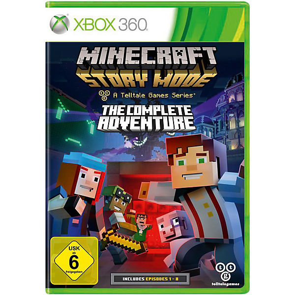 XBOX360 Minecraft Story Mode - The Complete Adventure