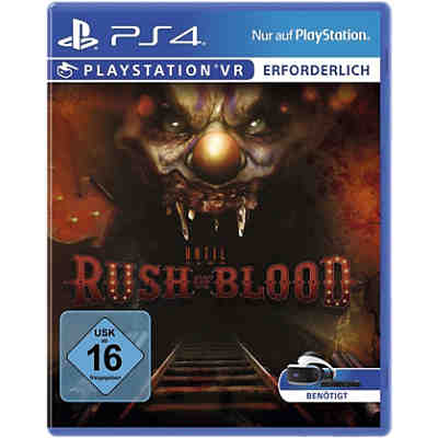 PS4 Until Dawn: Rush Of Blood (VR erforderlich)