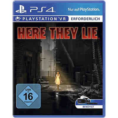 PS4 Here They Lie (VR erforderlich)