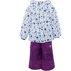Комплект: куртка и полукомбинезон для девочки Salve