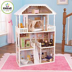 """Кукольный домик для Барби """"Саванна"""" (Savannah), с мебелью, 14 предм., KidKraft"""