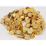 Гирлянда монеты, 270 см (золото)