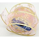 Декоративная лента розовая (0,08Х0,08Х0,05м)