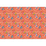 """Новогодний бумажный пакет """"Заснеженный домик"""", размер (33,0x45,7x10,2),"""