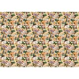 """Новогодняя упаковочная бумага в рулонах """"Оле Лукойе"""", полноцветная  100x70см"""