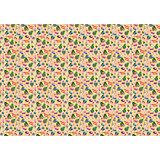 """Новогодняя упаковочная бумага в рулонах """"Елка и снеговик"""", полноцветная 100x70см"""