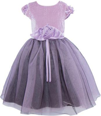 Нарядное платье для девочки Sweet Berry - лиловый