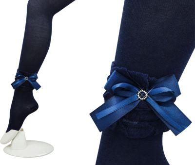Колготки для девочки Glamuriki - синий