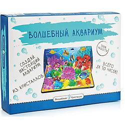 """Набор для выращивания кристаллов """"Волшебный аквариум"""" Бумбарам"""