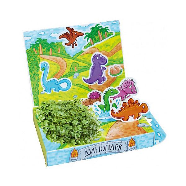 """Набор для выращивания """"Живая открытка"""" - Динопарк Happy Plant"""
