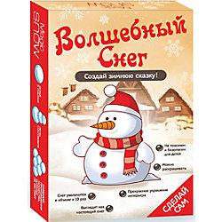 """Набор для опытов Волшебный снег """"Снеговик"""" Бумбарам"""