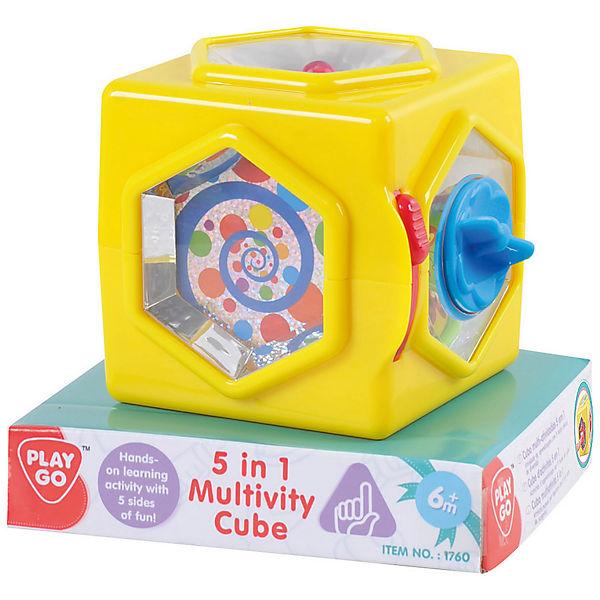 """Развивающая игрушка """"Куб """" 5 в 1, Playgo"""