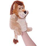 Мягкая игрушка на руку Лев, 25 см, Trudi