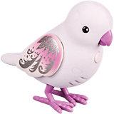 Интерактивная птичка, белая с фиолетовыми крыльями, Little Live Pets