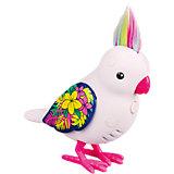 Интерактивная птичка, белая с блестящими крыльями, Little Live Pets