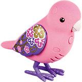 Интерактивная птичка, розовая с фиолетовыми крыльями, Little Live Pets