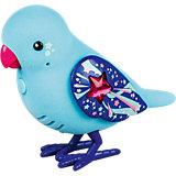 Интерактивная птичка, голубая с красным клювом, Little Live Pets