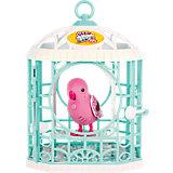 Интерактивная птичка в клетке, розовая, Little Live Pets