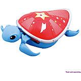 Интерактивная черепашка, голубая с красным панцирем, 3-я серия, Little Live Pets