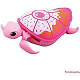 Интерактивная черепашка, розовая с белым панцирем, 3-я серия, Little Live Pets