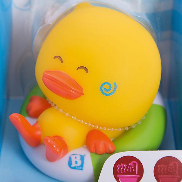 """Игрушка для купания """"Уточка"""" с идентификатором температуры, BKids"""