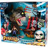 """Игровой набор """"Пираты. Одномачтовый шлюп и Рыба-монстр"""", Chap Mei"""