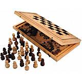 Игра 3 в 1, деревянная