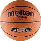 Баскетбольный мяч, B7R, р. 7, резина, оранж., MOLTEN