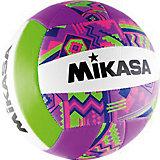 Волейбольный мяч, р. 5, синт. кожа, MIKASA