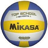 Волейбольный мяч, р. 5, синт кожа, MIKASA