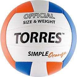 Волейбольный мяч, р.5, синт.кожа, TORRES