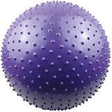 Гимнастический массажный мяч ВВ-003BL-22, 56см, Z-Sports