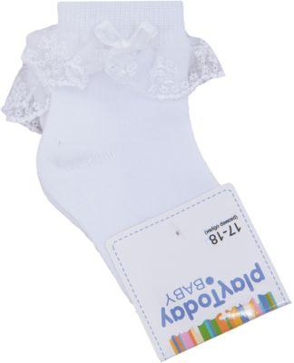 Носки для девочки PlayToday - белый