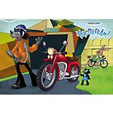 Настольная салфетка «НУ ПОГОДИ! - Мотоцикл» 44х28 см, дизайн 3Д