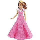 Кукла Одри, светлые герои в платьях для коронации, Наследники, Disney, B3123/B3124