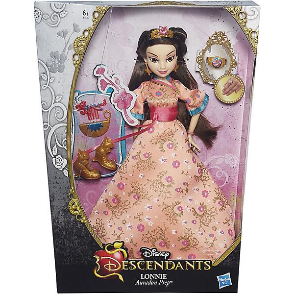 Кукла Лони, светлые герои в платьях для коронации, Наследники, Disney