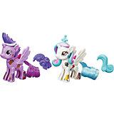 """Сумеречная Искорка и Селестия, стильные пони """"Создай свою пони"""", My little Pony, B3589/B4971"""