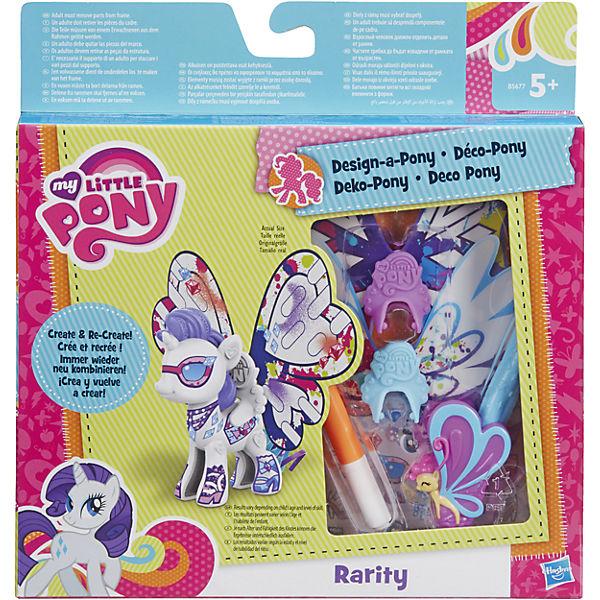 """Пони с крыльями Рарити """"Создай свою пони"""", My little Pony, B3590/B5677"""