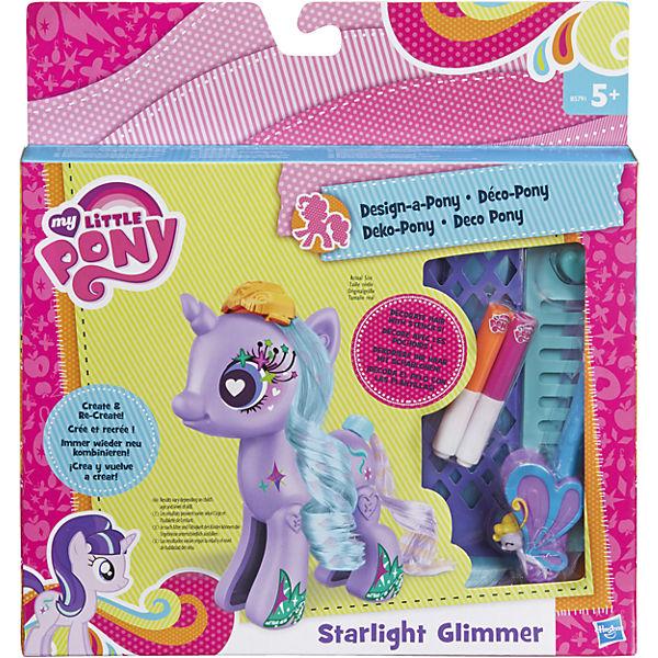 """Тематический набор """"Создай свою пони"""" Старлайт Глиммер, My little Pony, B3591/B5791"""
