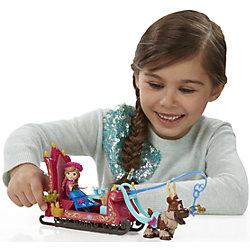 """Игровой набор """"Маленькие куклы"""" Анна, Свен и сани, Холодное сердце, B5194/B5196"""