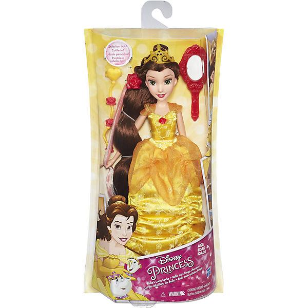 Базовая кукла Принцесса Белль в с длинными волосами, c аксессуарами