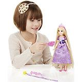 Базовая кукла Принцесса Рапунцель с длинными волосами, c аксессуарами, B5292/B5294